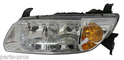 New Replacement Headlight Assembly LH FOR 2000-02 SATURN L SERIES