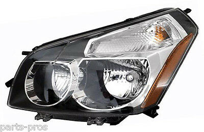 New Replacement Headlight Embly Lh For 2009 2010 Pontiac Vibe