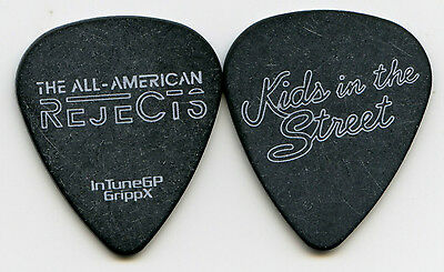 ALL AMERICAN REJECTS 2012 Kids Tour Guitar Pick!!! custom concert stage Pick