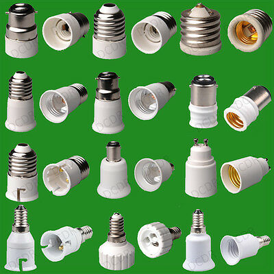 55+ Types Of Light Socket Adaptor, Base Converters, Extenders, Lamp Holders