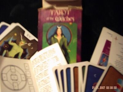Tarot Of The Witches Cards Deck