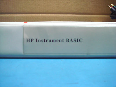 Hp Instrument Basic Users Handbook Version 2.0