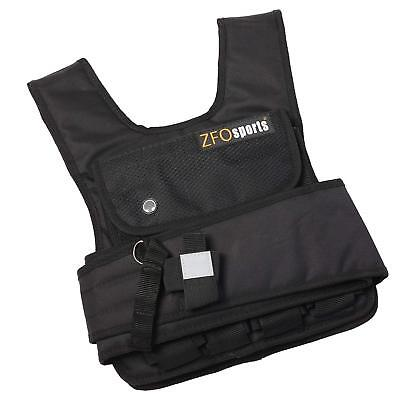 ZFOsports 50lbs SHORT STYLE ADJUSTABLE WEIGHTED VEST