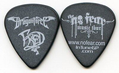 DRAGONFORCE 2006 Rampage Tour Guitar Pick!!! FRED LECLERCQ custom concert stage