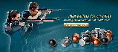 .177 / .22 H&N Pellets for Hunting / Plinking / Targets Shooting and more