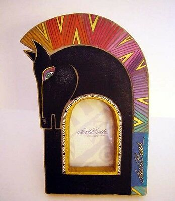 "Laurel Burch Horse Head Frame Large, RARE Collectible, Fits 4"" X 3.25"" Picture"
