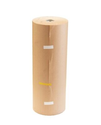 Brown Kraft Packaging Paper Roll 600mm x 300m Meter 80GSM  Packing Box Wrapping