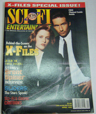Sci-Fi Entertainment Magazine Behind The Scenes On The X-Files 04/1997 061812R