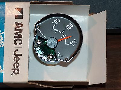 1976 and newer AMC Pacer, AMX with Rally Pak Water Temperature GAUGE, NOS NEW