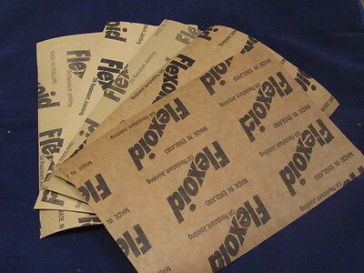 Gasket Paper Sets For Use With Oil And Water  A 4 Sheets Genuine Flexoid