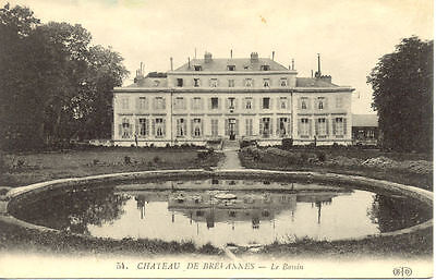 BREVANNES 54 château bassin