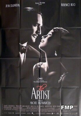 The Artist - Jean Dujardin - Original Large French Movie Poster