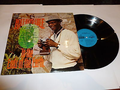 NAT KING COLE - To The Ends Of The Earth - Circa 1970 UK EMI Starline label LP