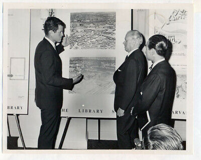 TED KENNEDY original wire photo 1964 JFK