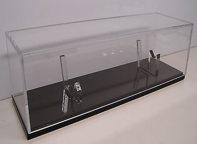 "Knife Display Case w/ sheath holder Randall knives cover rack 10"" scabbard stand"