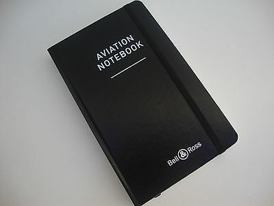 BELL & ROSS AVIATION Notebook Libreta WATCH Cahier Taccuino Koadernoa Caderno