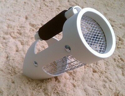 Pro  White Beach Sand Scoop Find Bounty with Hunter Tracker IV Metal Detector