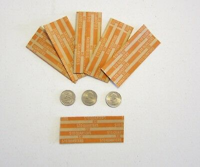 100 Coin Wrappers For Quarters  Made In Usa  Quarter  Wrappers