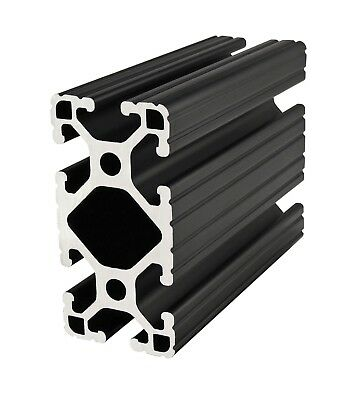 80/20 Inc T-Slot 1.5 x 3 Aluminum Extrusion 15 Series 1530-Lite-Black x 60 N