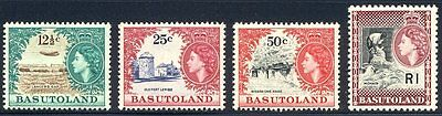 BASUTOLAND #72-82 Mint NH - 1961 Q E II Pictorial Set