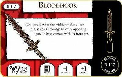 Mage Knight Omens R-117 Bloodhook