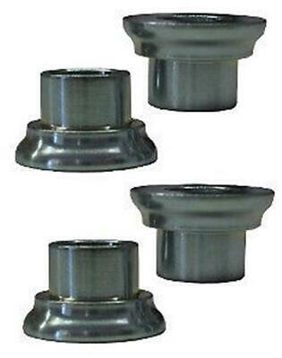 Tapered Rod End Heim Reducers 2 pair Spacers 5/8 to 1/2 IMCA Heims Misalignment