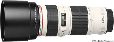 Canon EF 70-200mm F/4L IS USM  Lens For Canon EOS + 67mm UV Filter