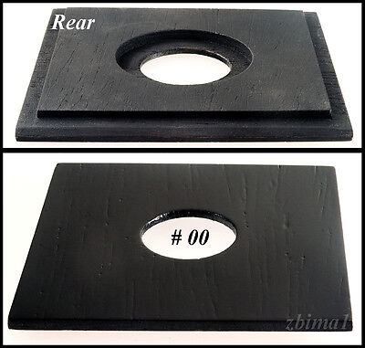 "1 LENS BOARD ""A""3-1/4"" x 3-1/4"" for GRAFLEX  RB Speed, or Early 3-1/4"" x 5-1/2"""