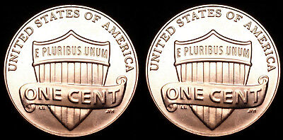 2012 P+D Lincoln Shield Sets ~ Uncirculated Coins from Bank Rolls