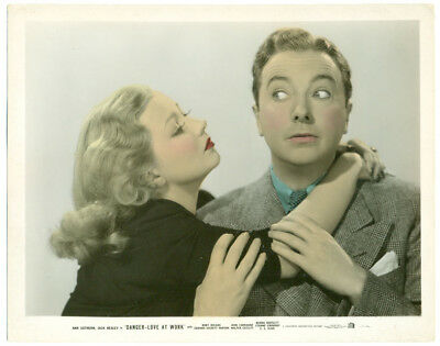 ANN SOTHERN original colorized movie photo 1937 DANGER: LOVE AT WORK
