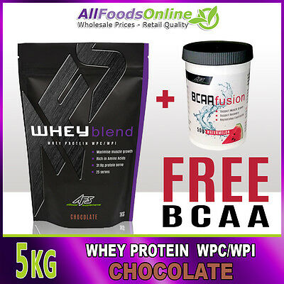 Premium Whey Protein Powder - Wpc / Wpi - Whey Blend - Chocolate - 5Kg