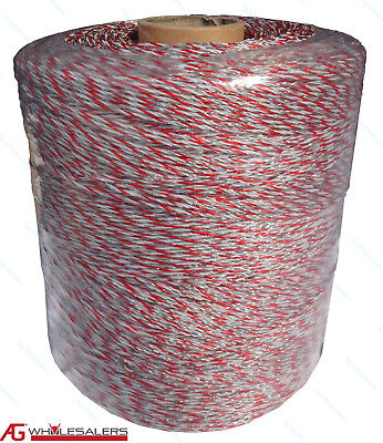Poly Wire 500M 0.08 Ohm/M Ultra Low Res Electric Fence Polywire Hot Wire Fencing