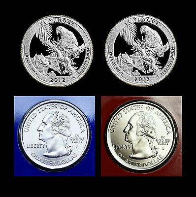 2012 P+D+S+S El Yunque PR ~ Silver & Clad Proof & PD in Original Mint Wrapper
