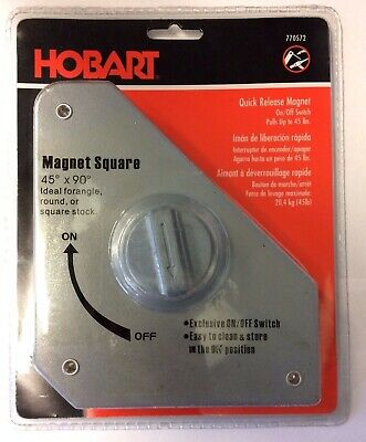 Hobart 770572 Quick Release Magnet On/Off Switch Pulls up to 45lb's