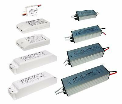 LED Driver Power Supply Transformer 240V-DC12-48V Non Dim 6W 12W 18W MR16 IP65