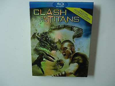 Clash of the Titans (Blu-ray/DVD, 2010, 2-Disc Set) NEW w/slipcover