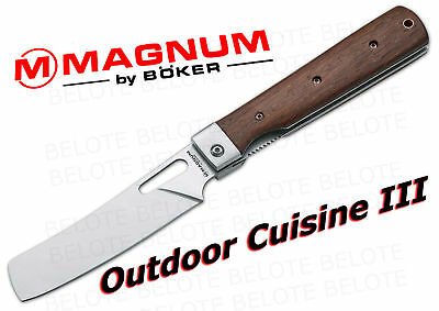Boker Magnum Outdoor Cuisine 3 Folder Plain 01MB432 NEW