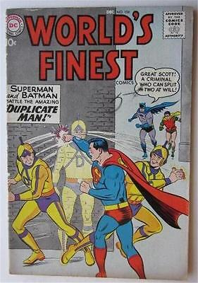 Worlds Finest #106 Dec 1959 Superman Batman Green Arrow Tommy Tomorrow F/vf