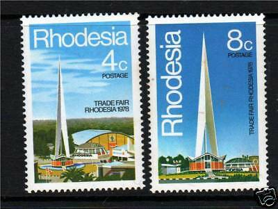 Rhodesia 1978 Trade Fair SG553/4 MNH