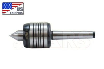 "Shars 1Mt .001"" Live Center 88 Lb 4000 Rpm  Morse Taper 1 Triple  Bearing Mt1"