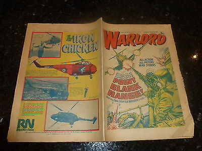 WARLORD Comic - Issue 115 - Date 04/12/1976 - UK Paper Comic