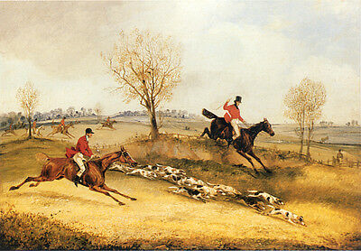 FOXHOUND FOX HUNTING DOG FINE ART PRINT (Small) - # 2 of 4 - Story of a Hunt