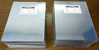 """1000 pieces 5mil Clear Document Covers 8 1/2"""" x 11"""" Letter Clear Covers"""