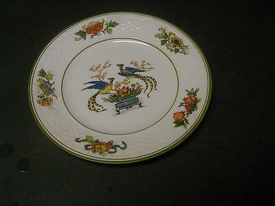 W. H. GRINDLEY COLORFUL BIRD PLATE