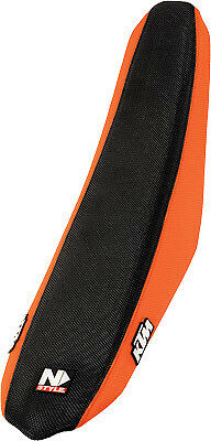 N-Style Factory Issue Gripper Seat Cover Orange KTM SX/XC/SXF/XCW N50-6040
