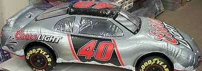 Coors Light Beer Inflatable Nascar # 40 Race Car Man Cave Party Sign New