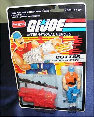 Gi Joe Cutter Ovp Moc 2002 Hasbro/funskool India