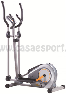 Elliptical Trainer CORSPORT Bike Ellittica 49 kg freno magnetico cyclette bici