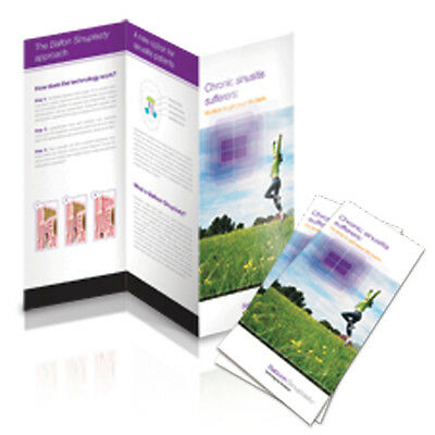 """1000 Z-Fold Glossy Brochures REAL PRINTING not copies 8 1/2"""" x 11"""" Full Color!!!"""