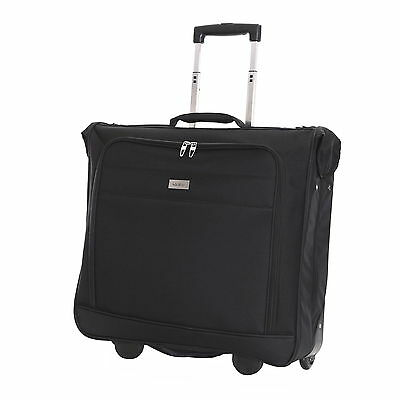 Wheeled Travel Suit Dress Luggage Suiter Garment Carrier Case Suitbag Cover Bag
